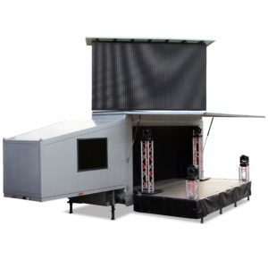 LED-Videowalltruck
